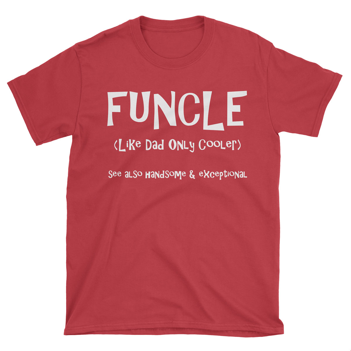 0632ce8e Funcle T-shirt – Weeded Words